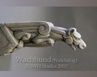 Wachhund (Watchdog) gargoyle by Jay W. Hungate
