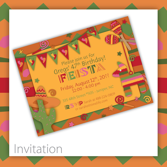 Items similar to Mexican Fiesta Party Invitation Fiesta – Mexican Fiesta Party Invitations