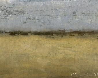 Springfield — Original Oil Painting, Landscape Oil Painting, Abstract Landscape, Original Painting, Abstract Painting, Fine Art, 5 x 7