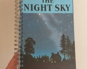 The Night Sky Notebook handmade from a vintage Ladybird book astronomy