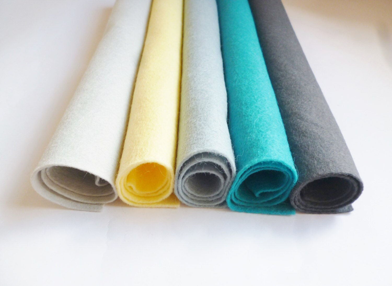 Felt fabric sheets wool blend felt arts and crafts 12inch felt for Felt arts and crafts
