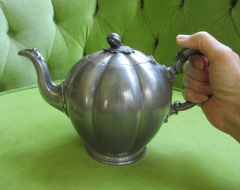 Vintage James Dixon & Sons Sheffield Pewter Teapot