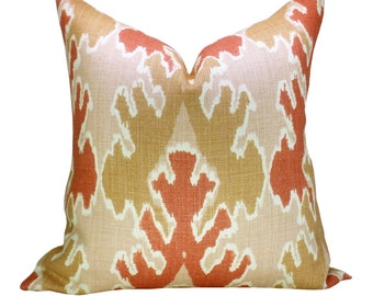 Bengal Bazaar pillow cover in Apricot