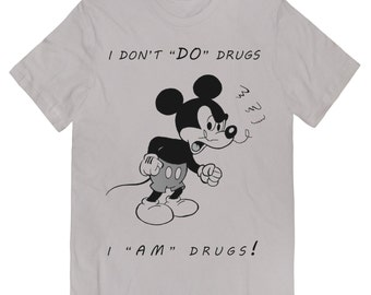 Very Angry Wasted DRUG MOUSE T-Shirt Sizes Small thru X-Large