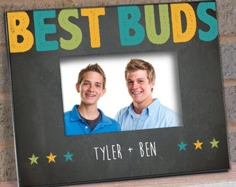 Best Buds Personalized Printed Frame -gfy494780