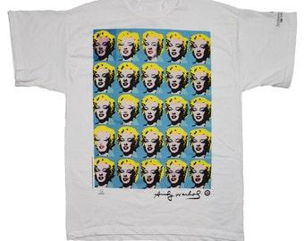 Marilyn Monroe Andy Warhol Shirt 1993 vintage