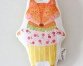 Fox Baby Rattle