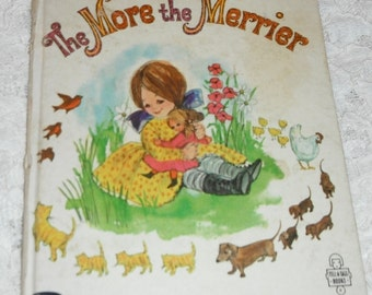 The More the Merrier by Glorence Michelson Vintage Whitman Tell A Tale Book 1964