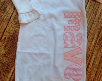 Infant Girl Personalized Gown - Infant  - Baby'sPersonalized