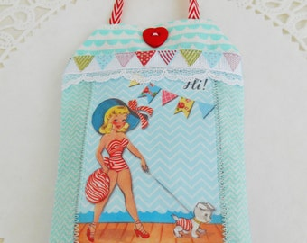 Summery Retro Inspired Lavender Sachet