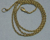 """Chains/Brass chains/bronze chains/Antiqued chains/Vintage chains/16"""" 18"""" or 24""""/"""