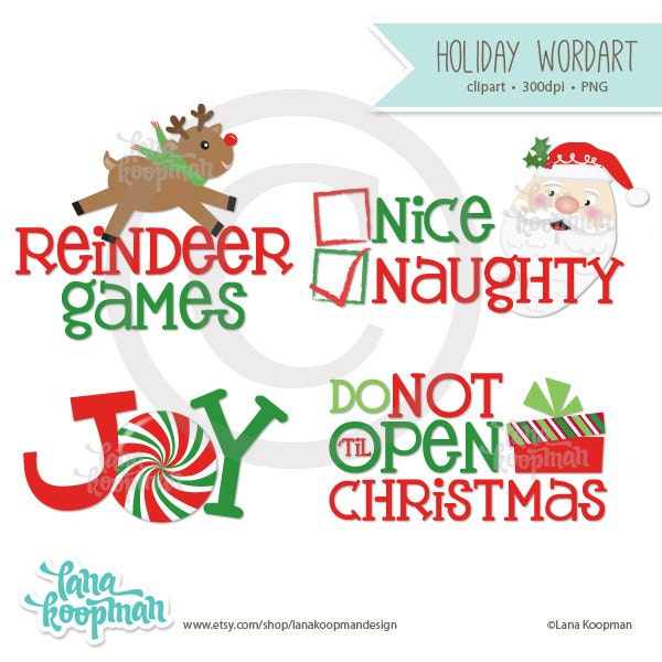 christmas holiday word art holiday quotes and by