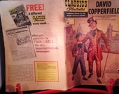 Classics Illustrated David Copperfield Comic Book Charles Dickens Stories by the World's Greatest Authors