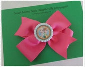 Frozen Fever Anna And Elsa Inspired Hair Bow choose your bow color