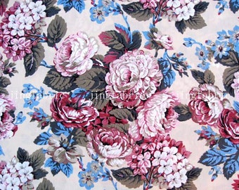 C2021B - 1 meter  Cotton Fabric - Flower and leaf (light yellow) (145cm width)