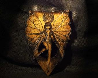 Lord Mocks Dark Fairy Girl Planchette (Spirit Pointer)
