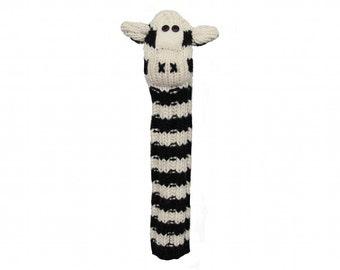 Zebra Animal Hybrid Golf Headcover