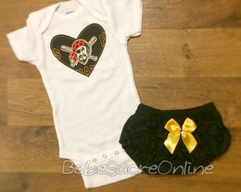 Pittsburgh Pirates Girls Outfit