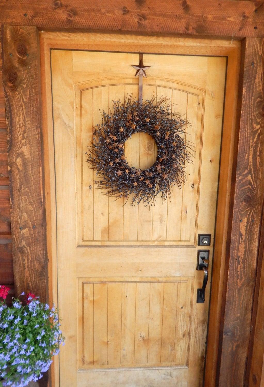 summer wreath july 4th wreath primitive country wreath rustic star