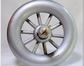 Drop Spindle - DS-108 - Silver