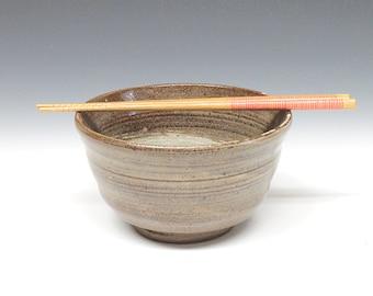 Ceramic Noodle Bowl, Handmade Ceramic Udon Bowl, Handmade Noddle Bowl
