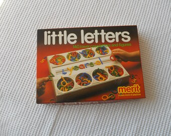 Little Letters Lower case Letters and Figures Boxed Set Toy Childrens