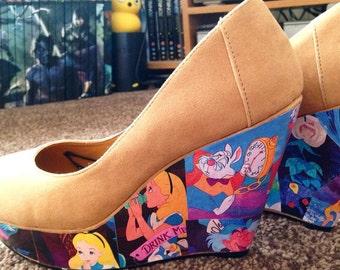 Alice in Wonderland Heels