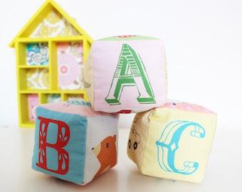 ABC Rattle Blocks