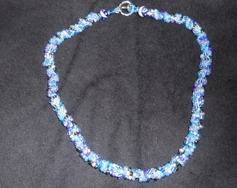 Blues on Ice Necklace