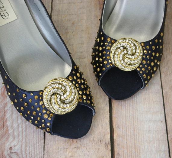 blue wedding shoes navy blue peeptoe wedge wedding shoes