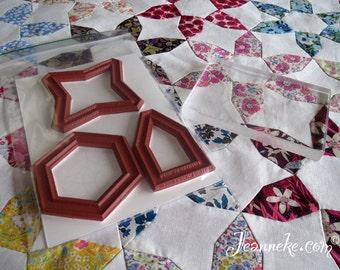 JASMINE Quilt Stamp Set (incl. acrylic block)