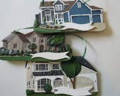 Handmade Custom house ornament - First Home Gift - Housewarming - PLEASE READ - Check listing for updates