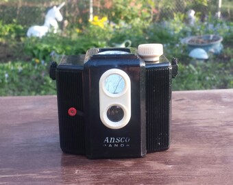 vintage ansco panda camera