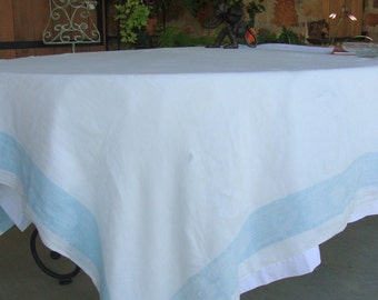 Vintage tablecloth cotton fabric damask cutter