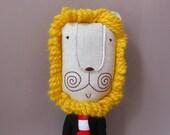 Mr. Lion Heart 207 - Lion Plush Soft Toy stuffed Doll Plushie Softie
