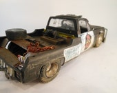 Scale Model Car Classicwrecks Rusted Chevy  Rat Rod Truck