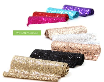 "Sequin Table Runners 12"" x 96"" by We Can Package"