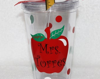 Personalized Teacher Cup