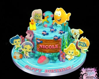 Bubble Guppies Cake Decorations: Everything You Need To Decorate This Bubble Guppies Theme Birthday Cake