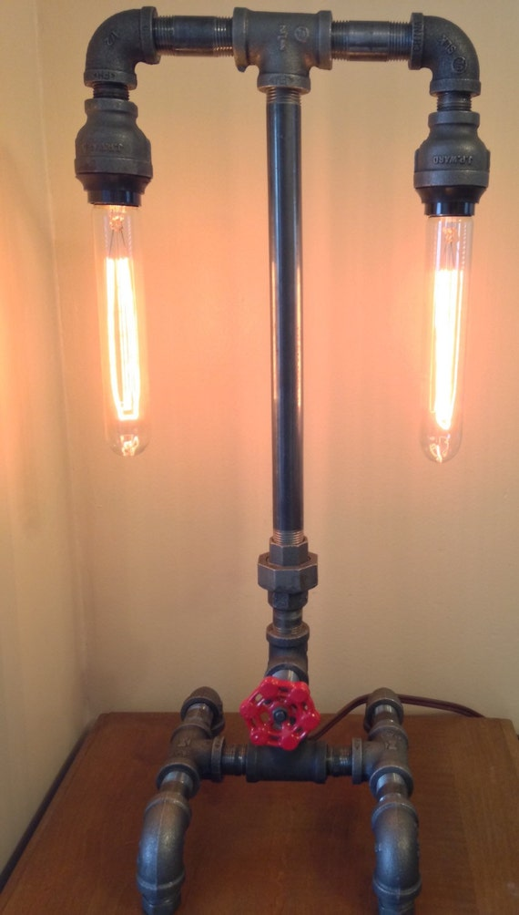 Industrial Iron Pipe Lamp Dual Socket and by LocalStrawberry : il570xN767348756tslk from www.etsy.com size 570 x 1004 jpeg 72kB