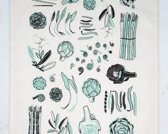 Spring Vegetables - Aloe