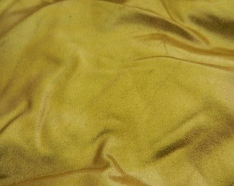 Liquid Gold Metallic Foil Spandex Fabric by the yard