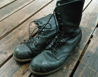 Vintage Carolina Boots Linesman's Boots, good used condition. Men's 10