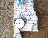 My Heart is in Alabama State Brooch