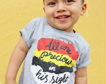 All Are Precious- Religious Shirt-Christian, toddler, baby, child