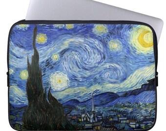 Van Gogh Starry Night iPad 2 3 4 Sleeve Tablet Case