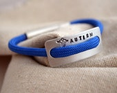 Children's Medical Alert Bracelet - Hand Stamped  - Autism - Diabetes - Epilepsy
