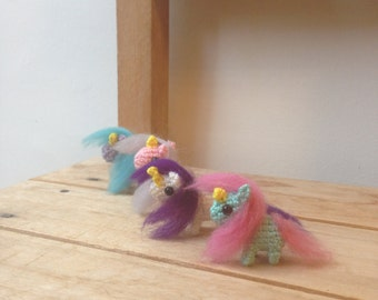 amigurumi unicorns