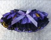 Beautiful Parley Ray Once Upon a Halloween Night Ruffled Baby Bloomers Witch Diaper Cover