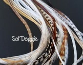 Extra Long Feather Hair Accessories Real Feathers for Hair XL Feather Accessory Unique Feather Extensions Qty10